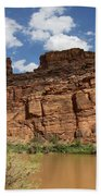Upper Colorado River View Beach Towel