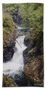 Upper Twin Falls Beach Towel