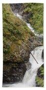 Upper Twin Falls Steps Beach Towel