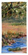 Upper Valley Beach Towel