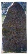 Uppsala Runestone Beach Towel