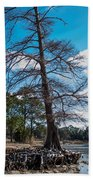 Uprooted Beach Towel