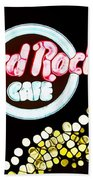 Urban Abstract Hard Rock Cafe Beach Towel by Dan Sproul