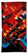 Urban Communication Beach Towel