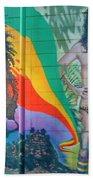 Urban Graffiti 1 Beach Towel