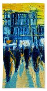 Urban Story - The Romanian Revolution Beach Towel