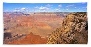Us, Arizona, Grand Canyon, View Beach Towel