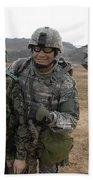 U.s. Army Commander, Right Beach Towel
