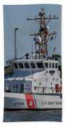 Us Coast Guard Yellowfin Beach Towel