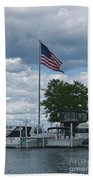 Usa Flag 10 Beach Towel