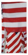 Usa Flags 02 Beach Towel