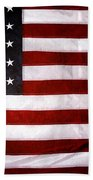 USA Beach Towel by Les Cunliffe