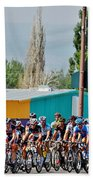 Usa Pro Challenge Bike Race Montrose Colorado Beach Towel