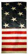 Usa Stars And Stripes Beach Towel