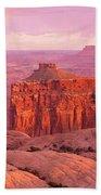 Usa, Utah, Canyonlands National Park Beach Towel