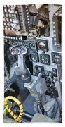 Usmc Av-8b Harrier Cockpit Beach Towel