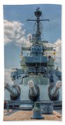 Uss North Carolina Beach Towel