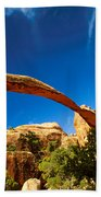 Utah Arches National Park  Beach Towel
