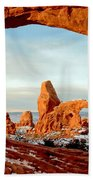 Utah Golden Arches Beach Towel