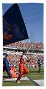 Uva Virginia Cavaliers Football Touchdown Celebration Beach Towel