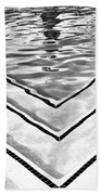 V Shape 2 Palm Springs Beach Towel