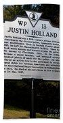 Va-wp13 Justin Holland Beach Towel