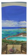 Vacation View Beach Towel