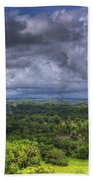 Valley At Chocolate Hills Beach Towel