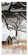 Valley Forge Winter 4 Beach Towel