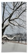 Valley Forge Winter 9 Beach Towel