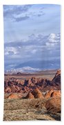Valley Of Fire Vista Beach Towel