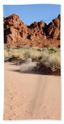 Valley Of Fire Wash Beach Towel