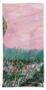 Valley Of Flowers Beach Towel