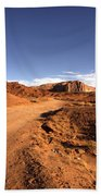 Valley Of Monuments  Beach Towel