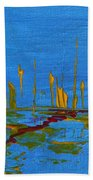 Valley Of The Red Moon Beach Towel