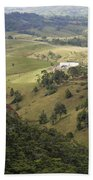 Valley View Of  Atherton Tableland Beach Towel