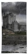 Vampire Castle Beach Towel by Juli Scalzi