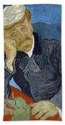 Van Gogh Dr Gachet Beach Towel