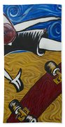 Van Gogh's Half Pipe Beach Sheet