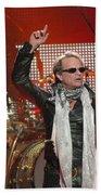 Van Halen-7149 Beach Towel