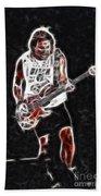 Van Halen-93-mike-gc23-fractal Beach Towel