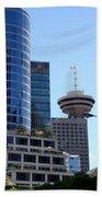 Vancouver Architecture 2 Beach Towel