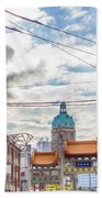 Vancouver China Town Beach Towel