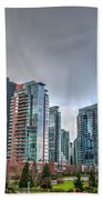 Vancouver Waterfront Beach Towel