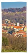 Varazdinske Toplice - Thermal Springs Town Beach Towel