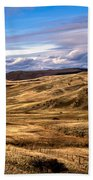 Vast View Of The Rolling Hills Beach Towel by Robert Bales