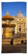 Vatican Morning Beach Towel