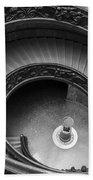 Vatican Stairs Beach Towel by Adam Romanowicz