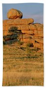 Vedauwoo Rocks Sunset Wyoming Beach Towel