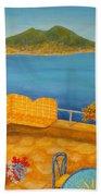 Veduta Di Vesuvio Beach Sheet